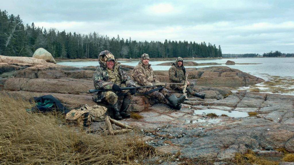 Sea Duck Hunt, Maine, Fall 2016