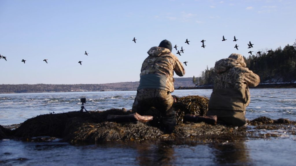 Conor Olstad, Andy Reeves, sea duck hunting